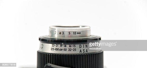 old lens : Stockfoto