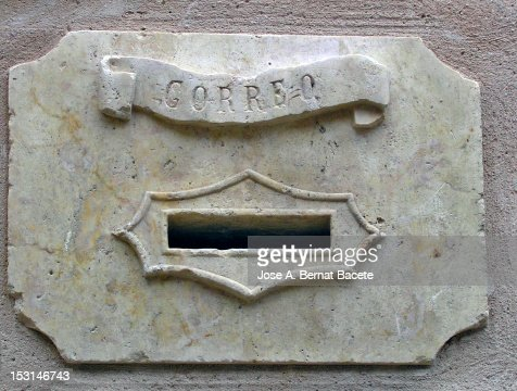 Old letterbox : Stock Photo