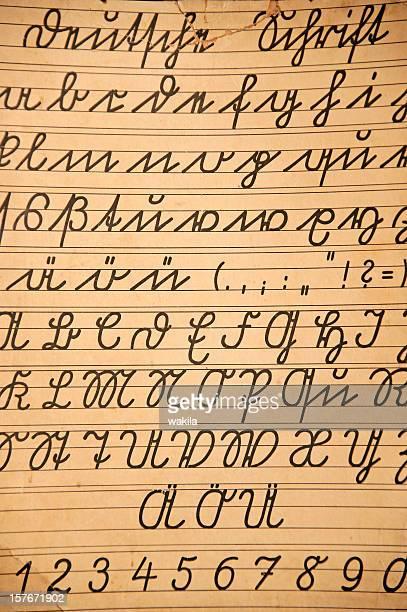 Vecchie lettere-Alte deutsche Buchstaben