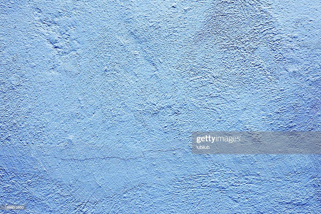 Vieux fond de texture bleu clair mur : Photo