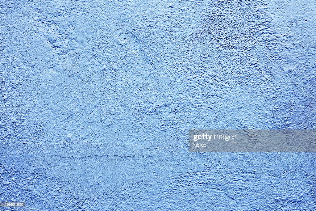 Old light blue wall texture background