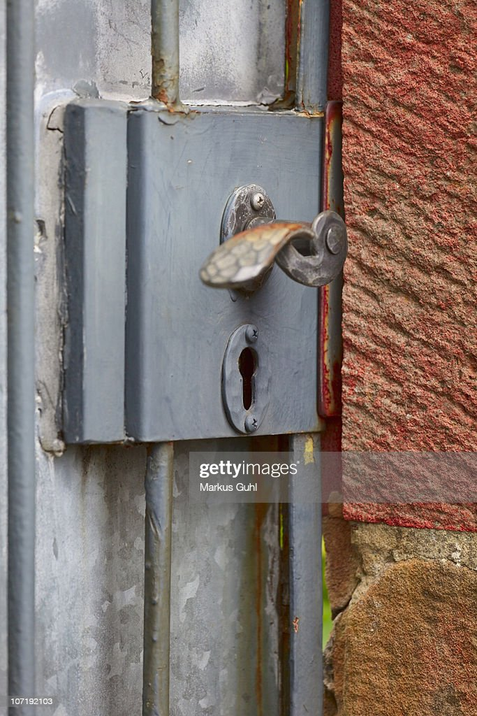 Old lock : Stock Photo