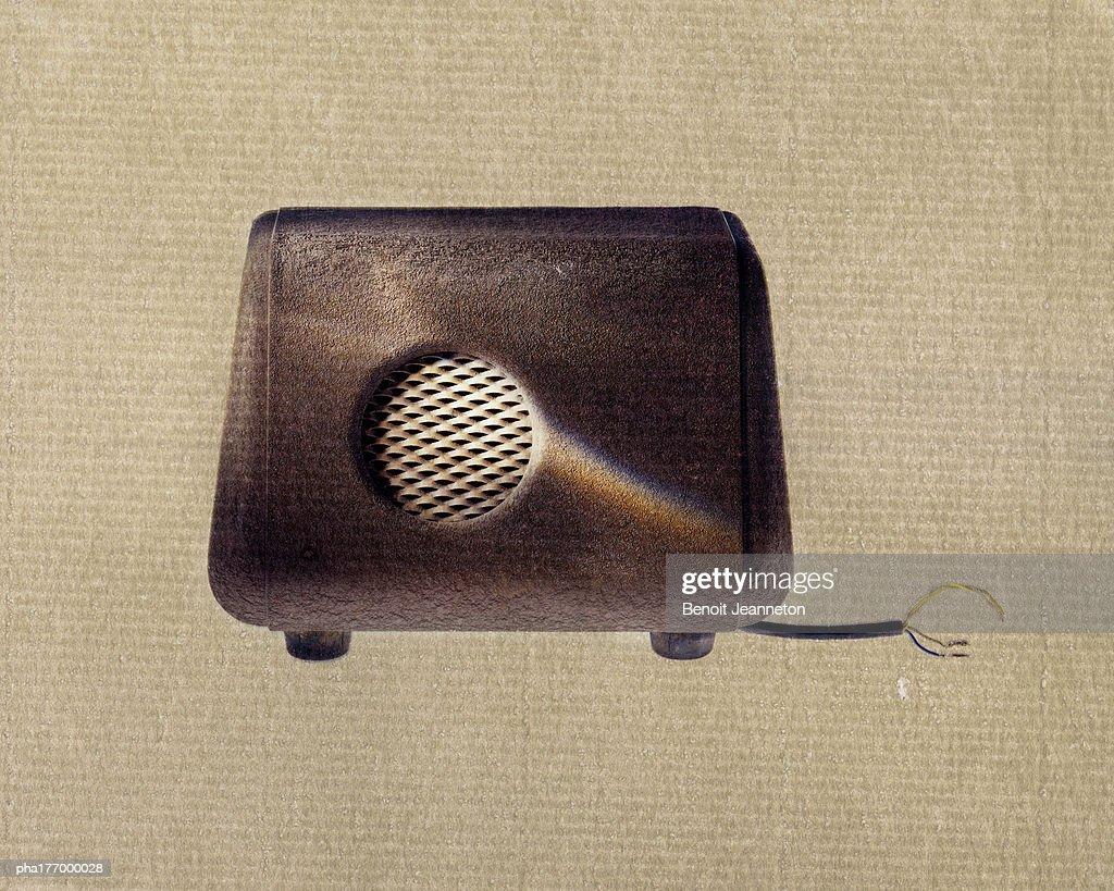 Old loudspeaker