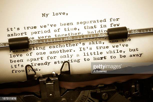 Vecchia Lettera d'amore