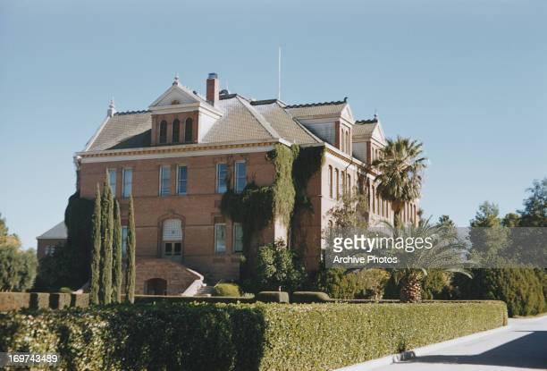 Old Main Arizona State College Tempe Arizona September 1958