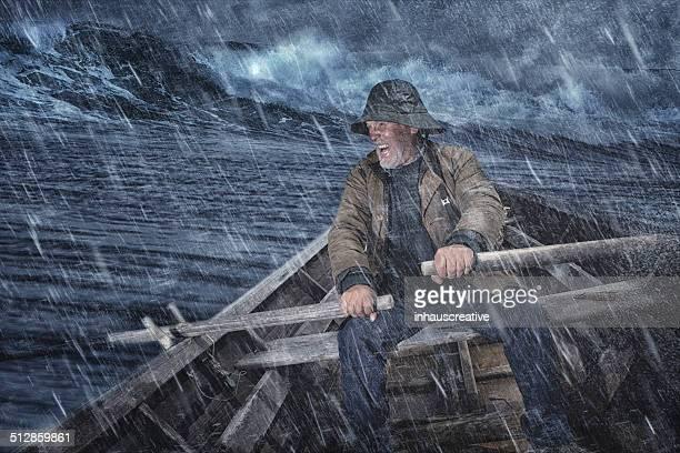 Uomo anziano e il mare