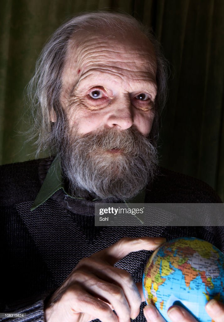 Old Man : Stock Photo