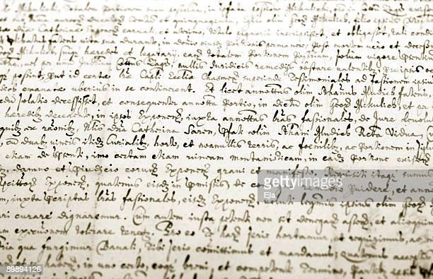 Old manuscrito