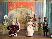 Old marionettes, Czech Republic