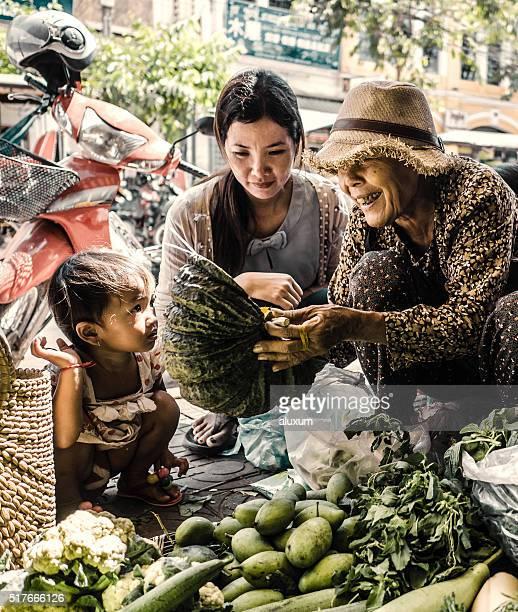 Mercato Vecchio Siem Reap Cambogia