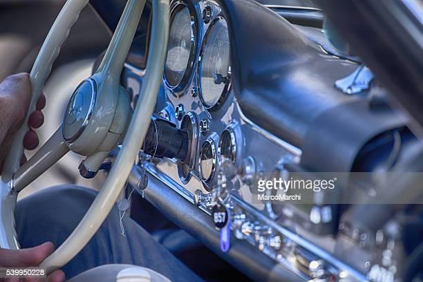 Vecchia Mercedes noleggio per Mille Miglia 2016