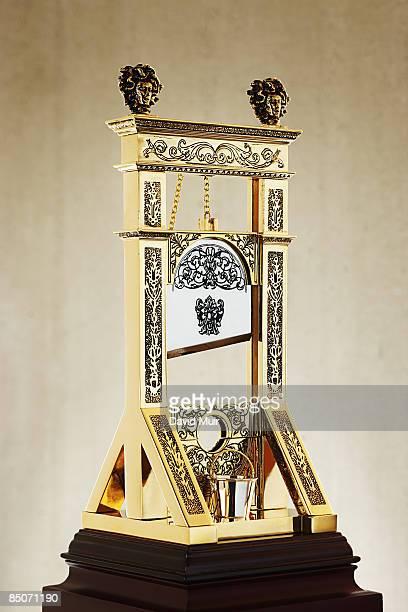 old metal guillotine
