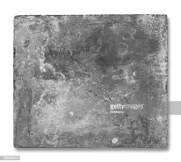 Ancienne plaque en métal