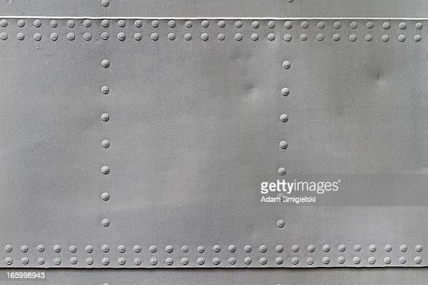 old metal texture with rivets