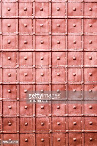 Old metal wall : Stock Photo