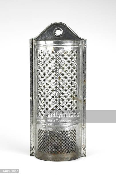 Old metallic grater
