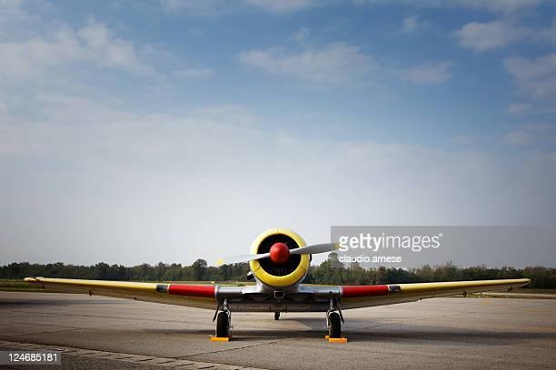 Avion militaire vieille