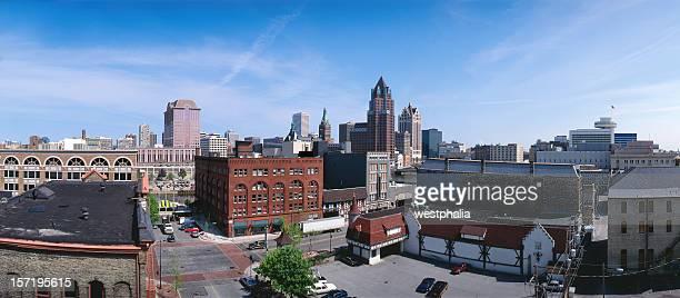 Old Milwaukee Skyline