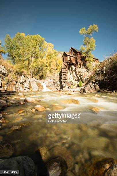 Old mining town crystal mill