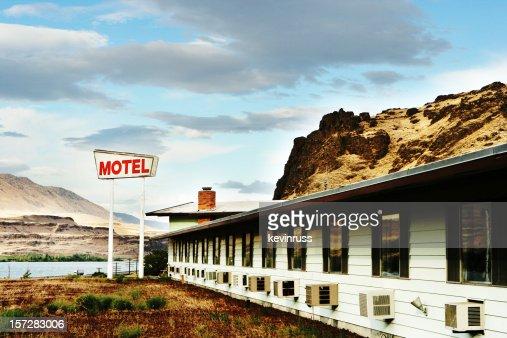 Old Motel in the Desert