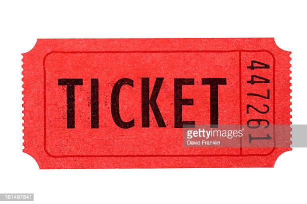 Old movie or theater ticket