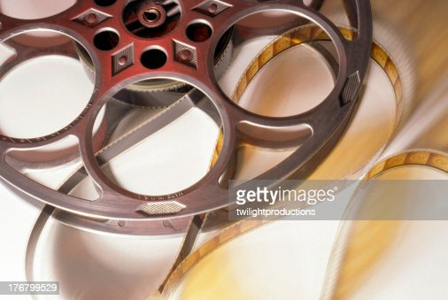 Old Movie Reel and Film : Stock Photo