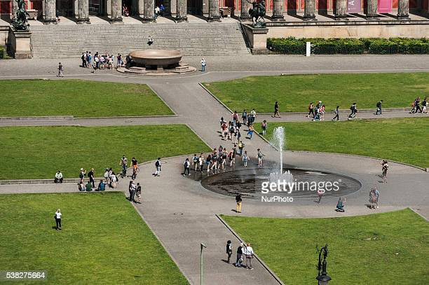 Old Museum Berlin Cathedral in Berlin Germany on 3 June 2016