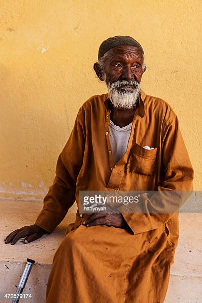 Old Muslim man in Southern Egypt