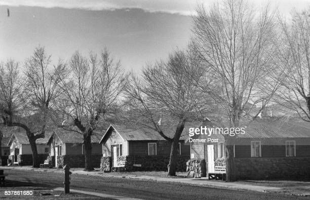 Old National Guard Barracks At Camp George West Near Golden They are used for the State Penitentiary's minimum security facility Credit Denver Post...