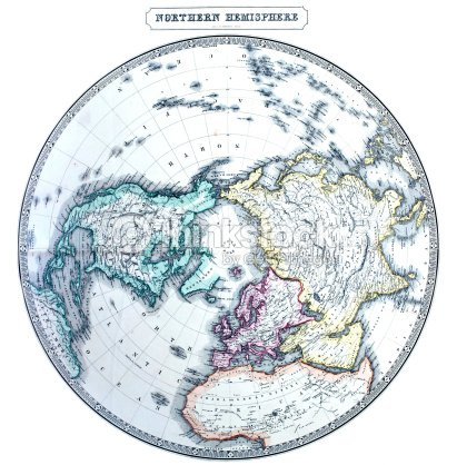 Old northern hemisphere map stock photo thinkstock old northern hemisphere map stock photo gumiabroncs Image collections