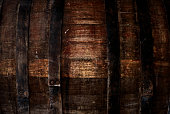 Wooden pattern - texture of old barrel