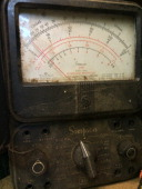 Old ohm meter