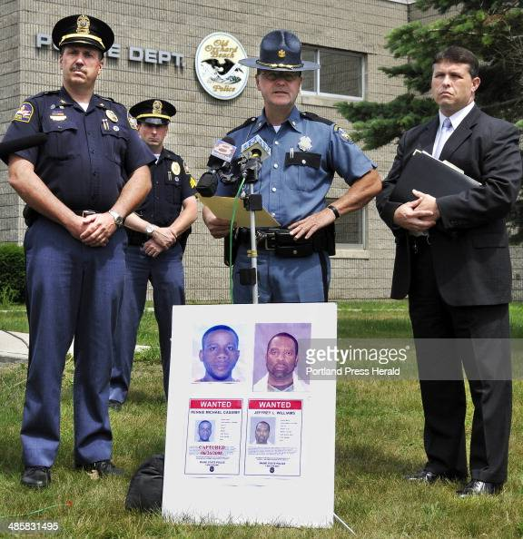 Police And Media: Maine State Police Crime Stock Photos And Pictures