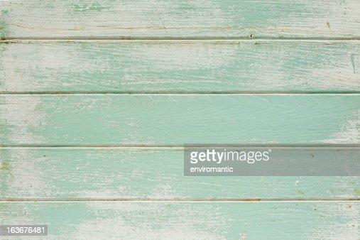 旧ペインティッド木製ボードの背景。