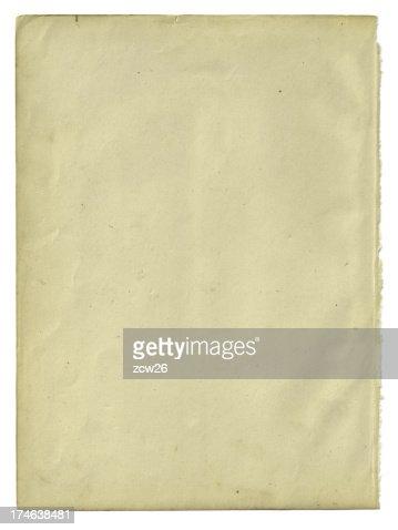 古い紙製絶縁