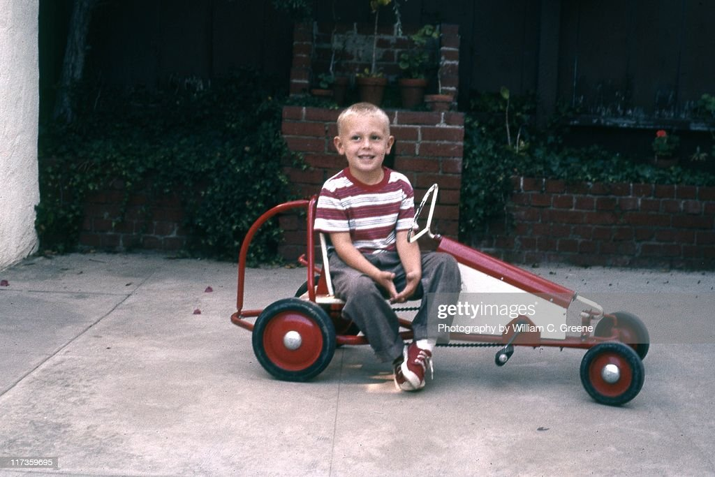 Old pedal car : Stock Photo