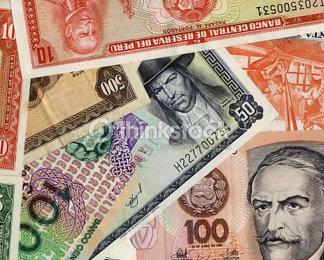 Old peruvian currency banknotes stock photo thinkstock old peruvian currency banknotes stock photo thecheapjerseys Choice Image