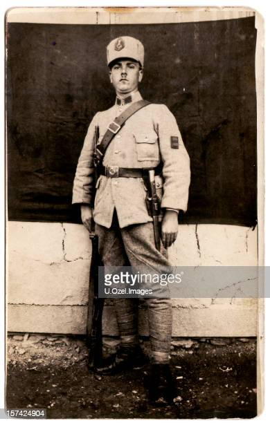 Old Photograph of a Young Soldier