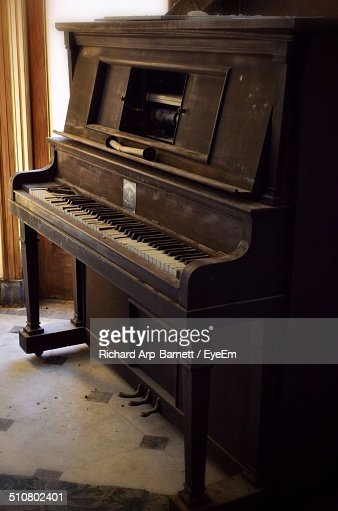 Old piano at home