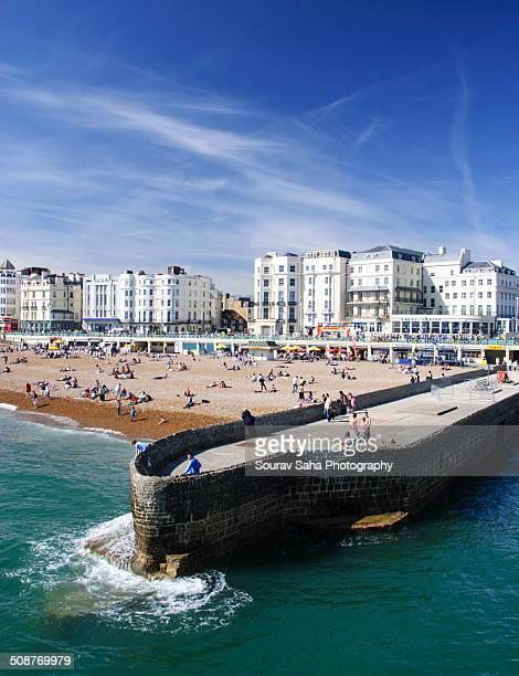 Old Pier in Brighton Beach