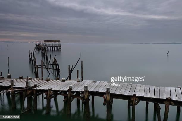 Old pier of Carrasqueira