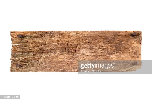 Old Plank and nails