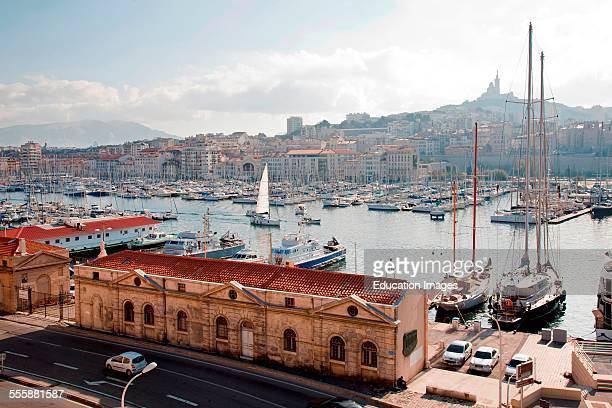 Old Port Marseille Provence France Europe