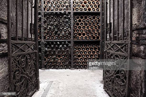 Old Porto wine cellar