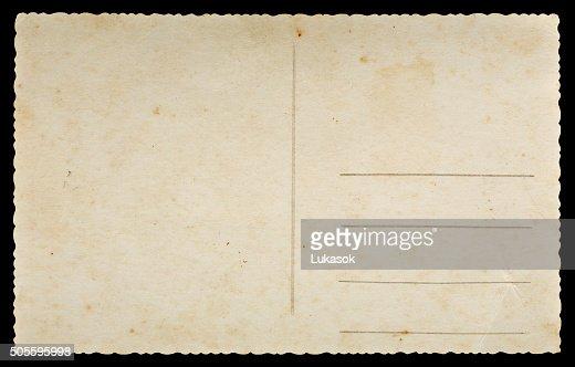 Ancienne carte postale : Photo