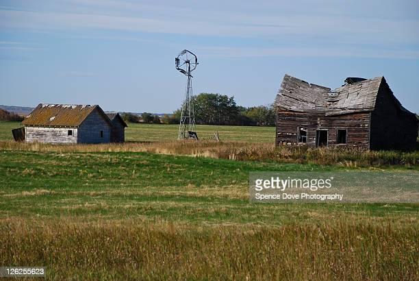 Old Prairie farm