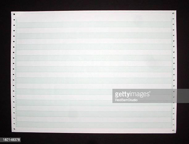 Old Printer Paper