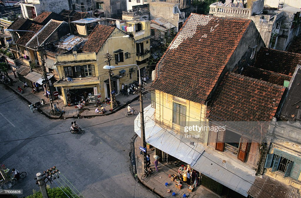 Old Quarter in Hanoi, Vietnam : Stock Photo