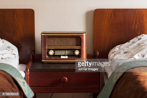 Old radio in bedroom Stock Photo  Old Radio In Bedroom Stock Photo Getty  Images. Bedroom Radio