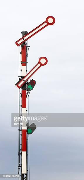 Ferroviária de Sinalização com Bandeiras